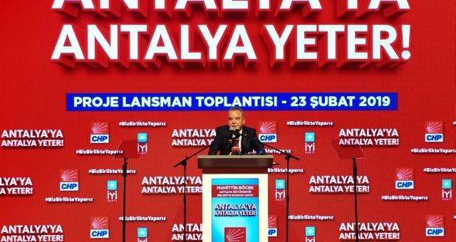 """Böcek: """"Ant Olsun Antalya'ya Çok Çalışacağız"""""""
