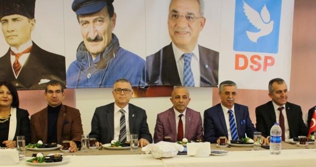 DSP Belediye Başkan Adaylarını Tanıttı