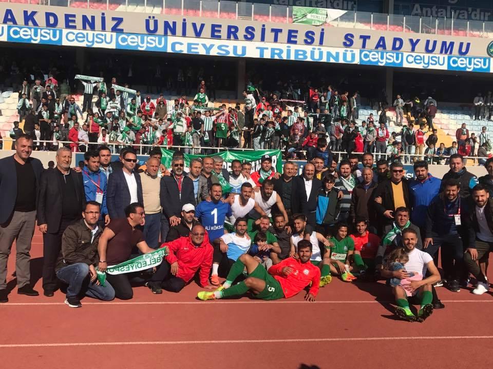 Serik Belediyespor, Bal Ligine devam edecek