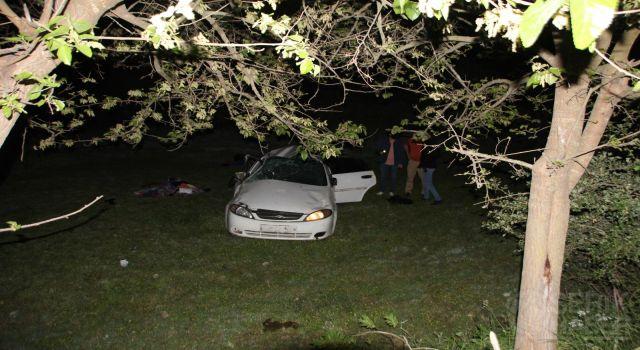 Trafik kazasında : 1 ölü 4 yaralı