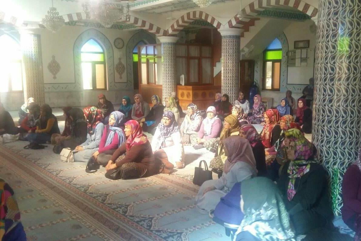 Kadınlar Tuzcuoğlu Camide Buluştu
