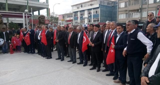Serik Kahramanmaraşlılar Derneği Çanakkale Zaferi'ni Kutladı