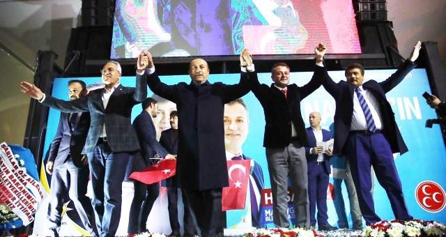 Bakan Çavuşoğlu: Belediyecilik Bizim İşimiz