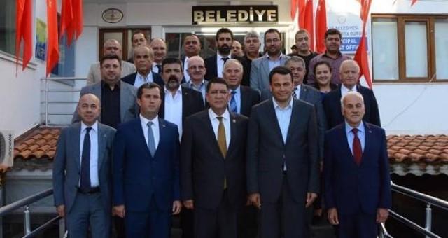 AESOB'dan Belediye Başkanlarına Ziyaret