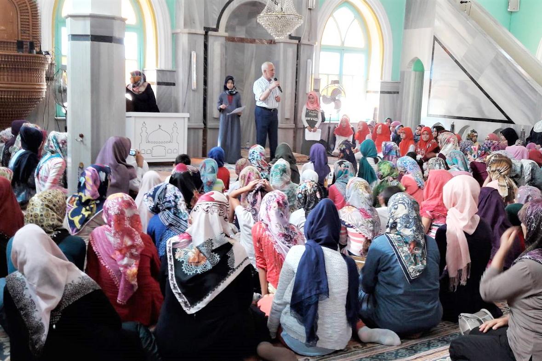İkinci Cami-Çocuk buluşması kız öğrencilerle yapıldı