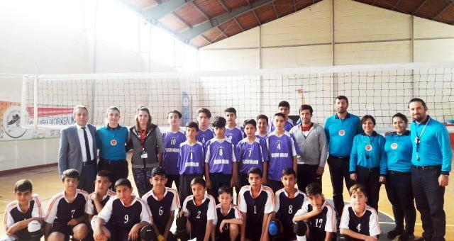 Serik Okul Sporları Voleybol Maçları Başladı