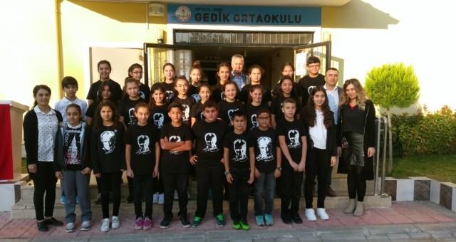 Gedik'te 10 Kasım Programı