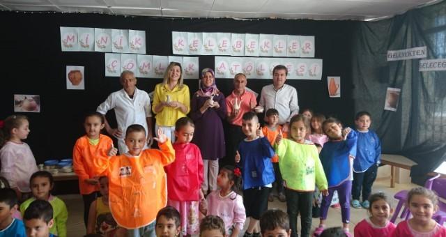 Akçaalan İlkokulunda Çömlek Eğitimi