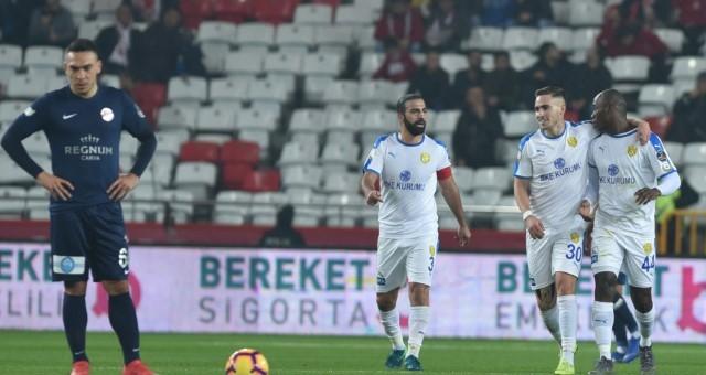 Antalyaspor- MKE Ankaragücü: 2-4