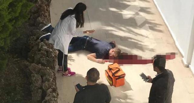 Otelin Balkonundan Düşen Alman Turist Öldü