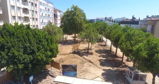 Kız Deresi Parkı Projesi'nin 2. Etap Çalışmaları Sürüyor