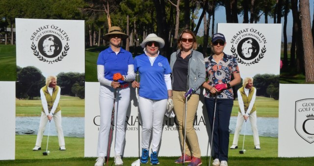 Ladies Golf Turnuvası Başladı