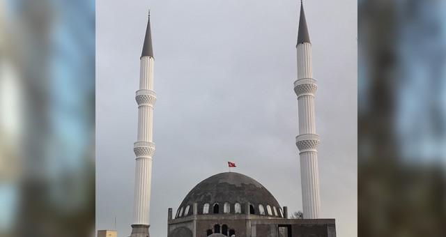 Serik Merkez Camii Minareleri Tamamlandı