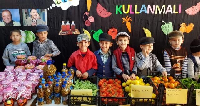 Akçaalan İlkokulunda Sıradışı Yerli Malı Haftası