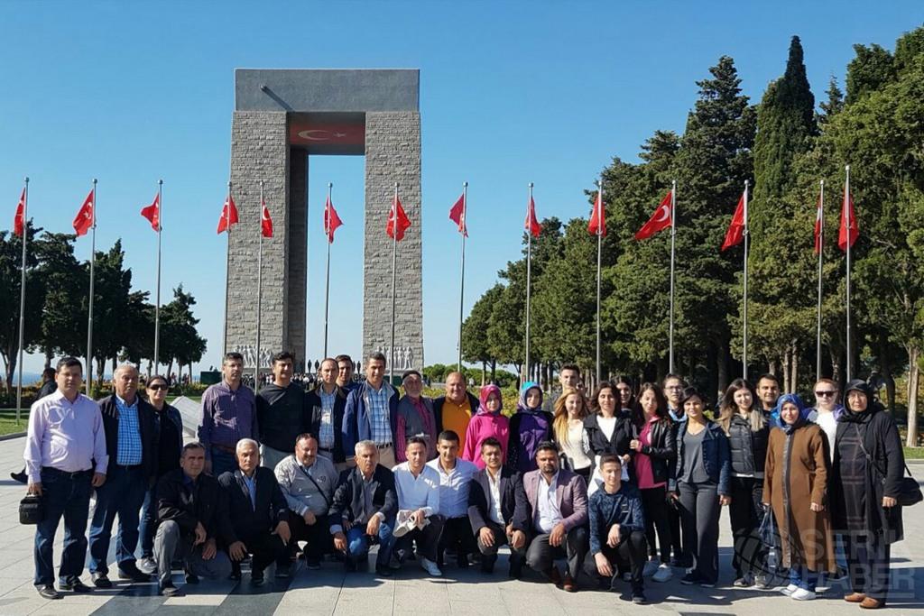 Ak Parti Serik Teşkilatı Çanakkale'de