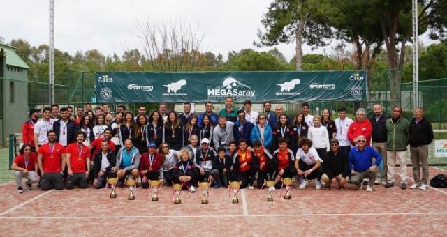 Üniversiteler Tenis Ligi'nde Erkeklerde Haliç, Kadınlarda Aydın Üniversitesi Şampiyon