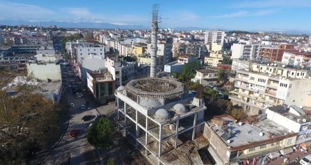 Yeni Merkez Camisinde Aynı Anda Bin 500 Kişi İbadet Edebilecek