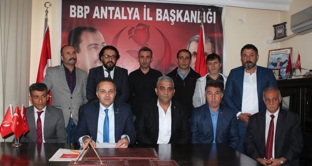 BBP Antalya İl Yönetimi İstifa Etti