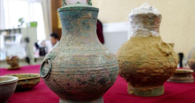 Antik Çin Mezarında 2 Bin Yıllık