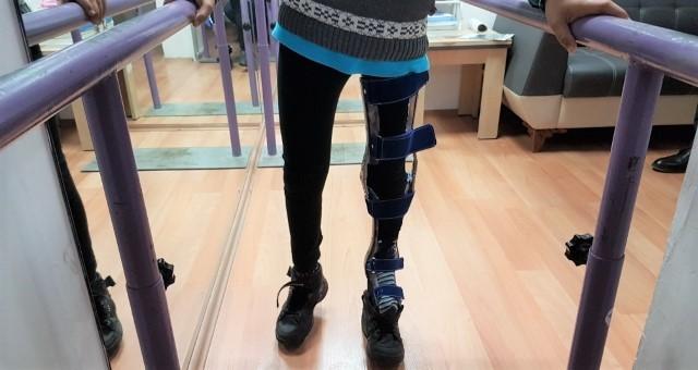 Protez Bacağına Kavuşan Halithan Çok Mutlu