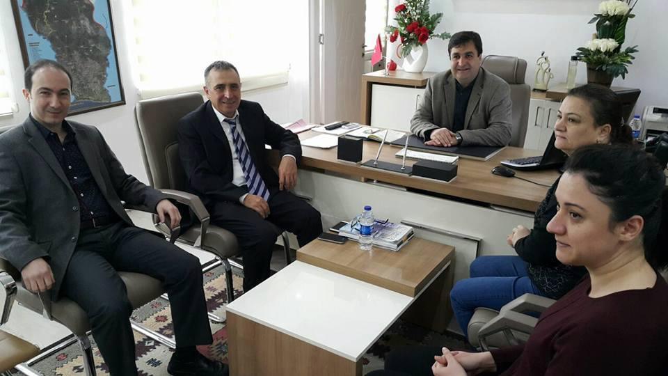 Kaymakam Şimşek'in İlçe Tarım Müdürlüğü Ziyareti