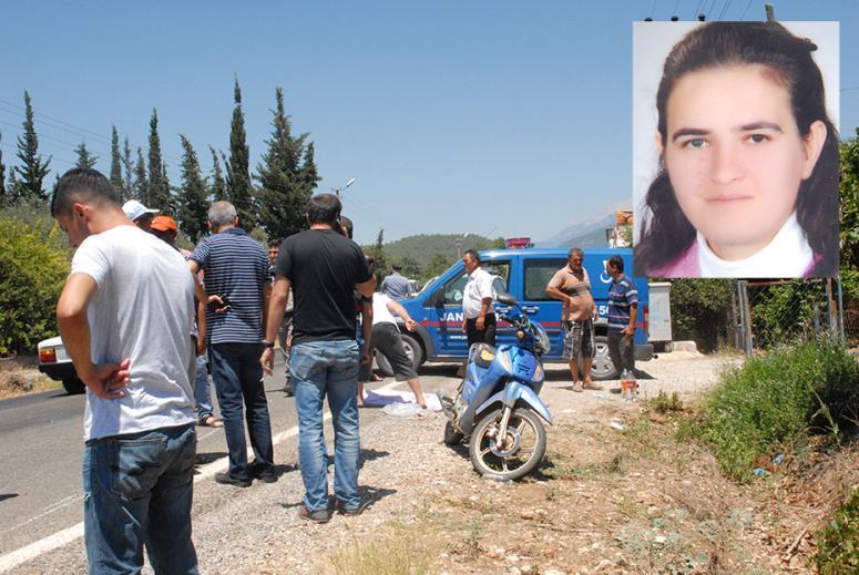 Kadın Motosiklet Sürücüsü Yaşamını Yitirdi : 1 Ölü