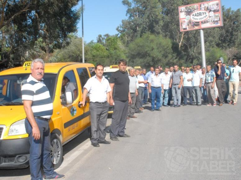Serikli Taksiciler Kontak Kapattı