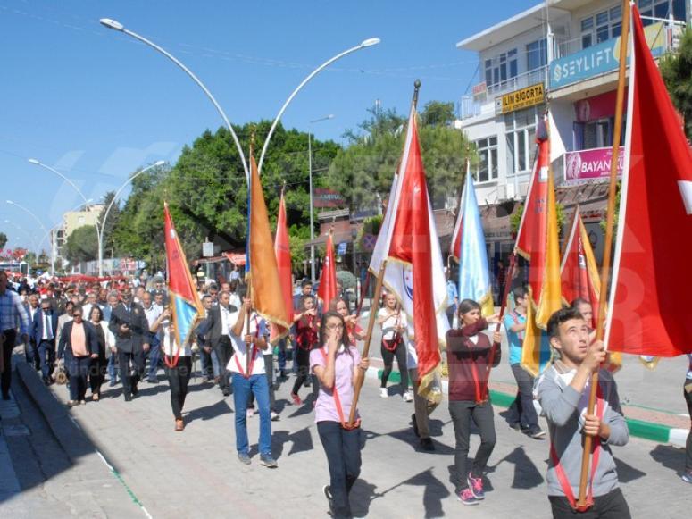 Serik'te 19 Mayıs Kutlamaları Yapıldı