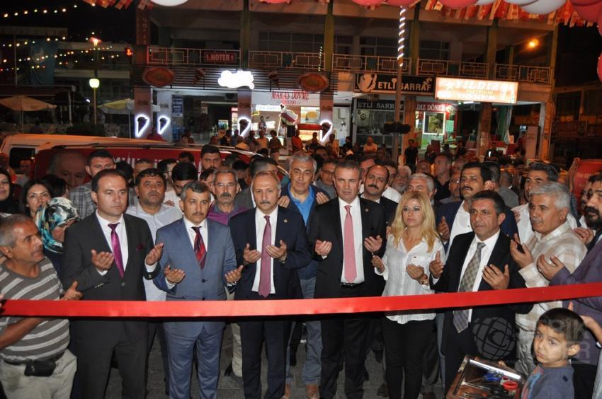 MHP Serik Seçim Bürosu Açıldı
