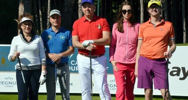 Serik'te Pro-Am Golf Turnuvası Başladı