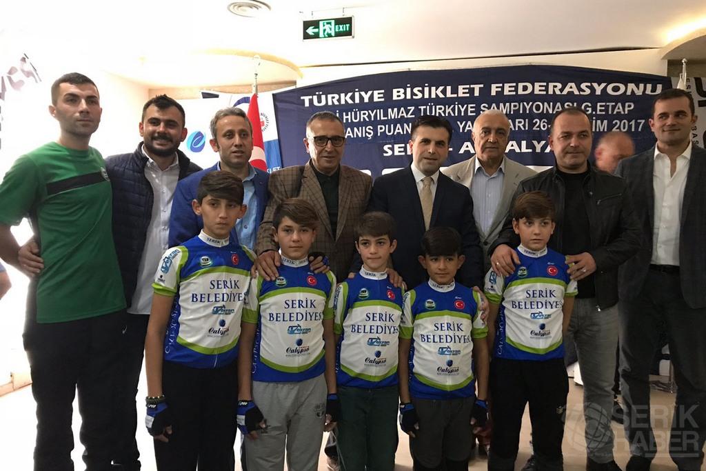 Türkiye Şampiyonası Yol Yarışları sona erdi