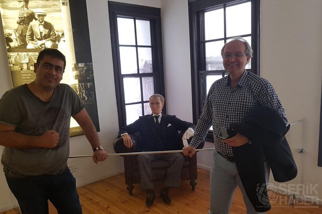 Yedisu Eğitim Kurumları Yöneticileri Atatürk'ün Doğduğu Evde