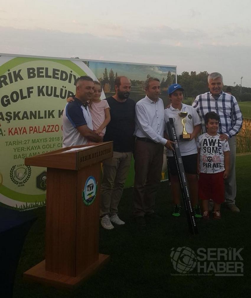 Başkanlık Kupası Golf Turnuvasında Göktuğ İlbey CAN Birinci Oldu