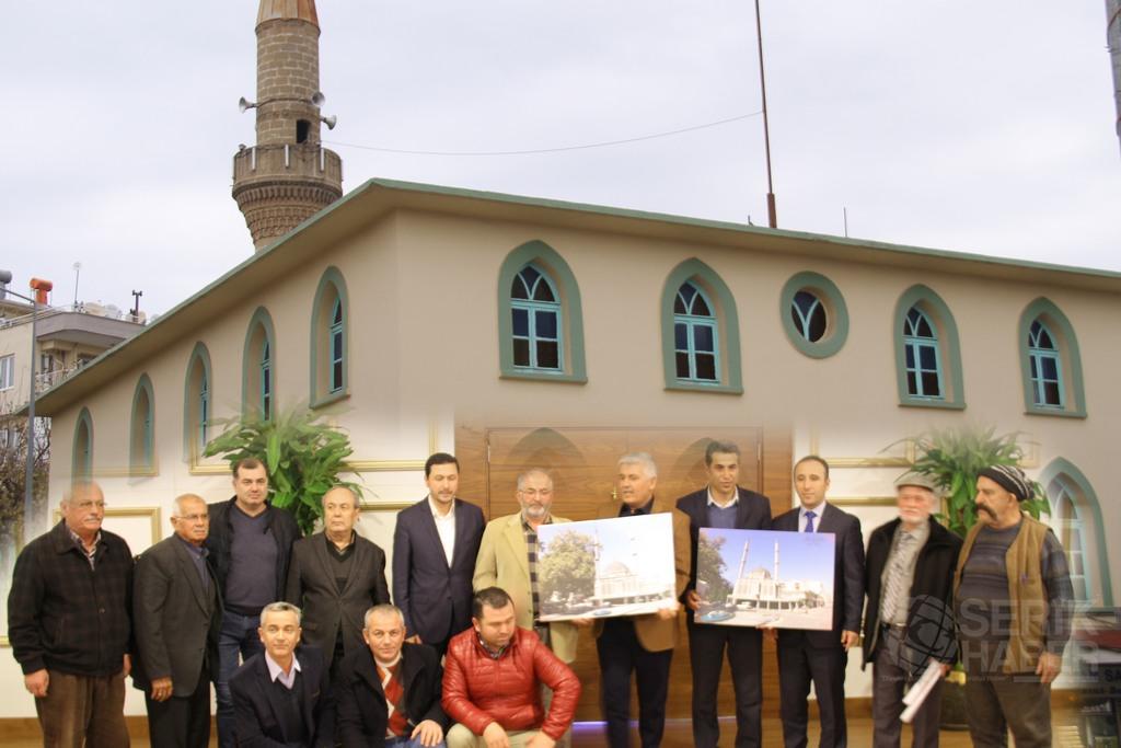 Merkez Cami Mart ayında yıkılıp yenilenecek