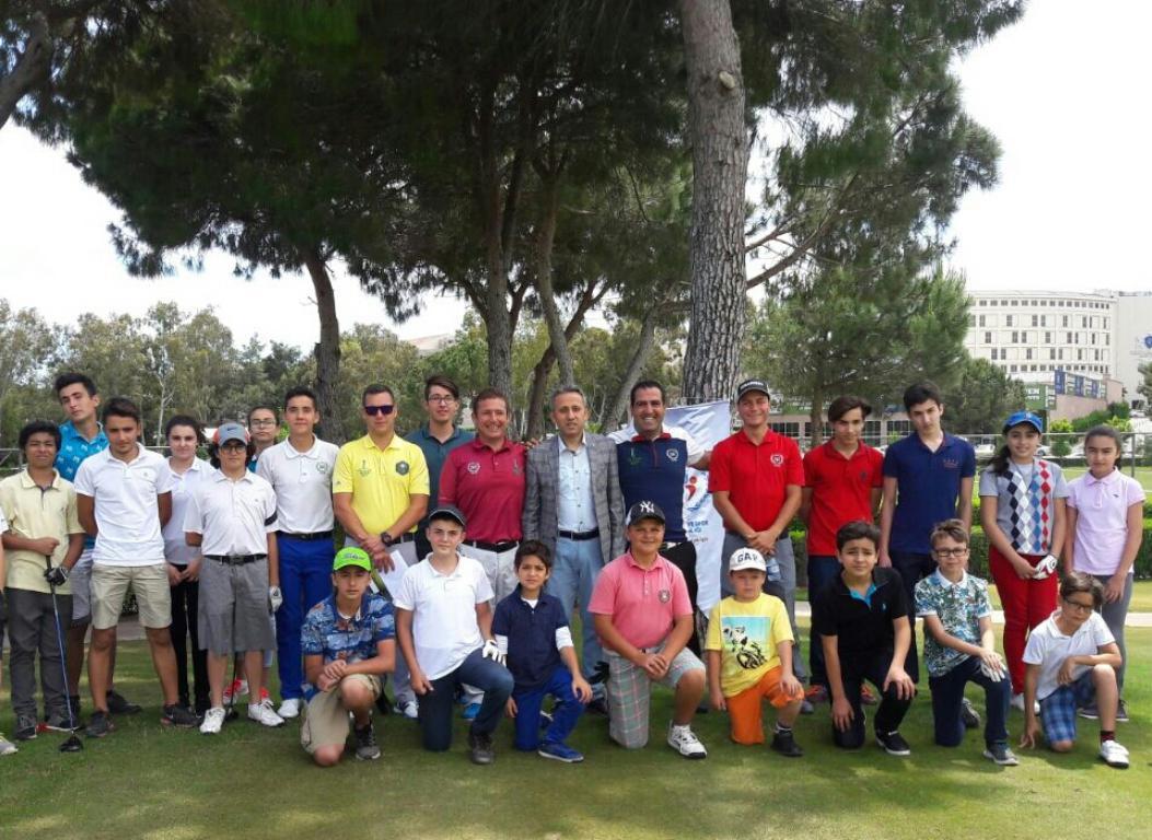 Serik 2. Gençlik Golf Turnuvası Yapıldı