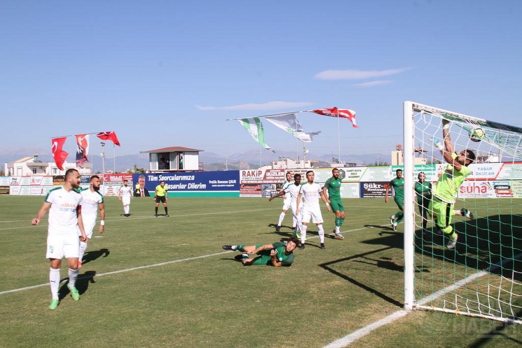 Serik, Konya Ereğli maçında 3 puanı kazandı