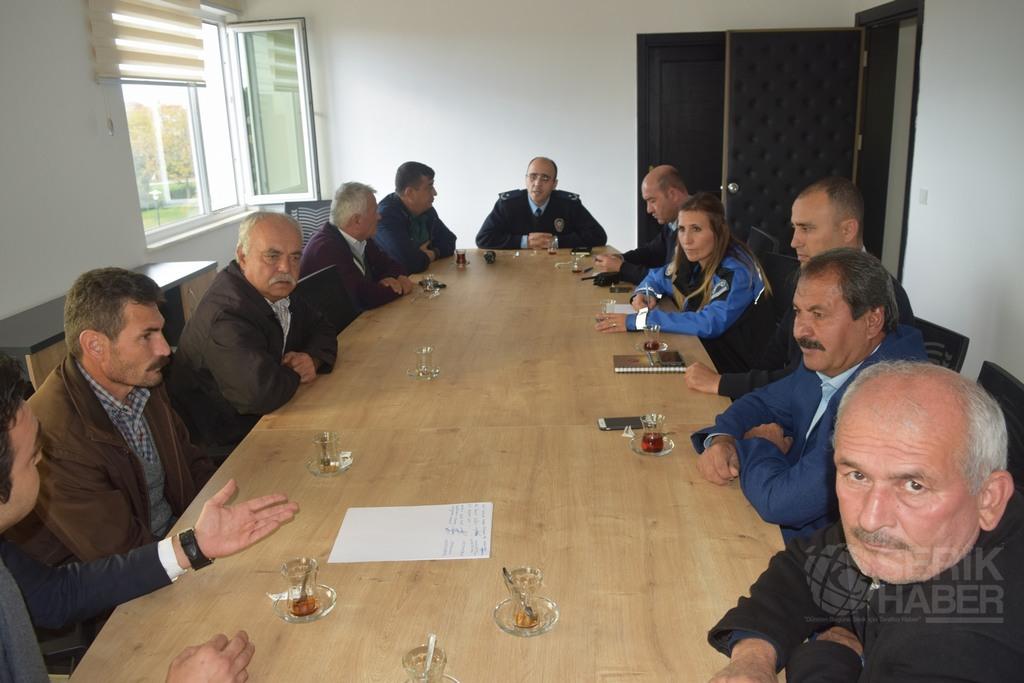 Antalya Emniyeti'nden Huzur Toplantıları