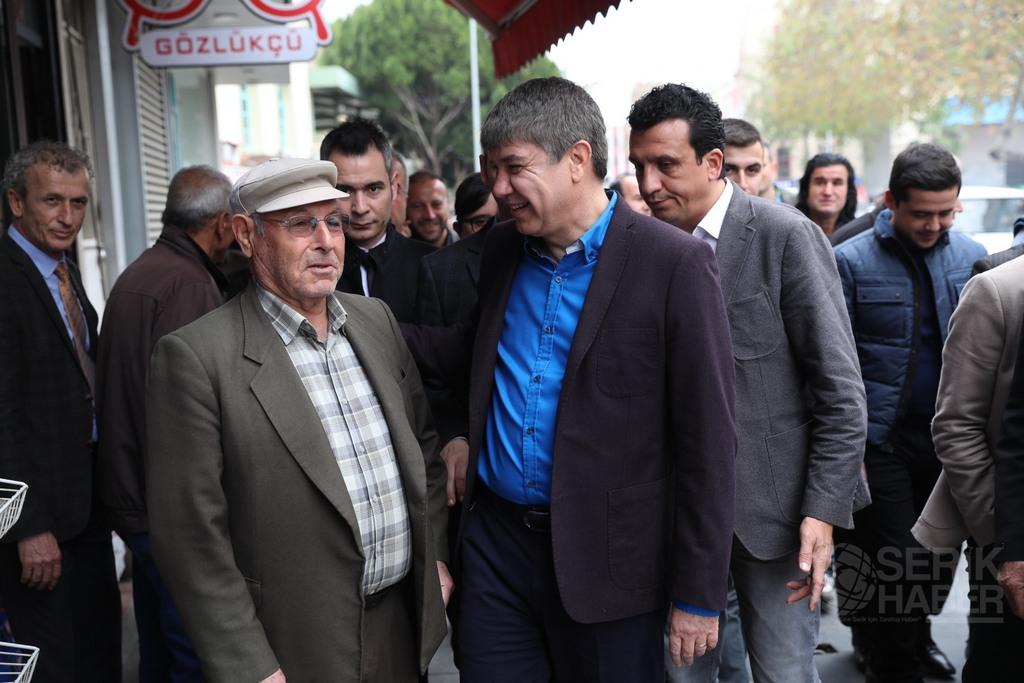 Başkan Türel'den Serik'e müjdeli haberler