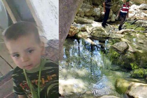 Dereye düşen 2 yaşındaki çocuk öldü