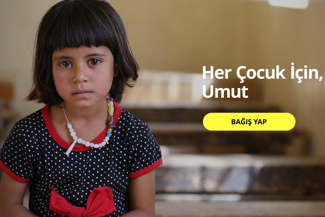 UNICEF'in Türkiye hizmetleri