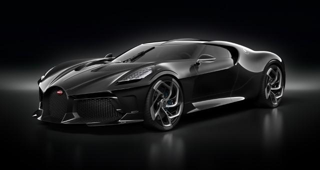 Neredeyse Otoban Fiyatına Satılan Ultra Lüks Araç: Bugatti La Voiture Noire