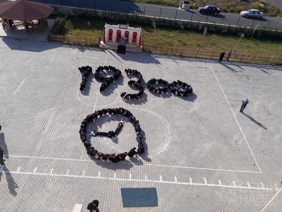 Akçaalan İlkokulunda 10 Kasım Anma Programı yapıldı