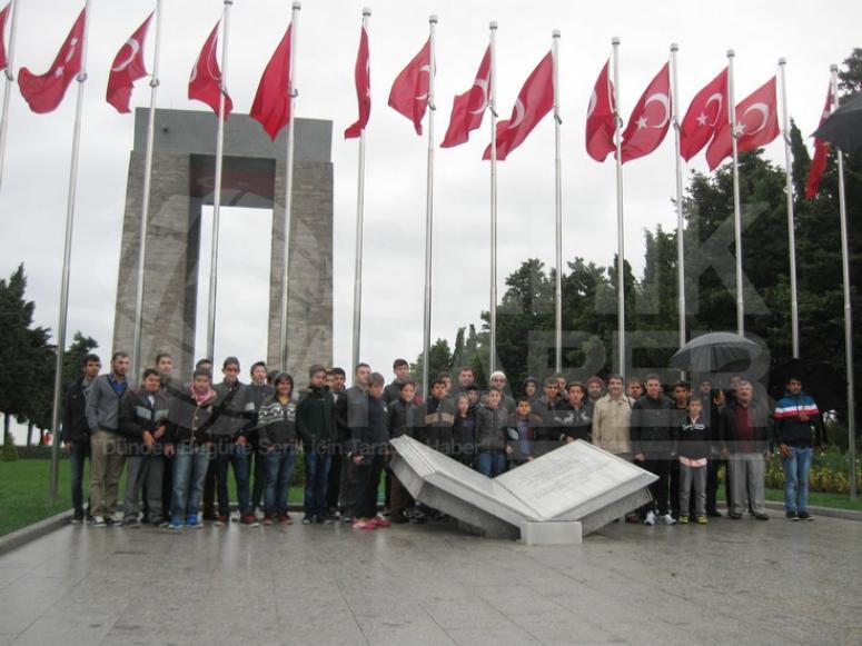 Gençlerle Çanakkale Şehitliği Ziyareti