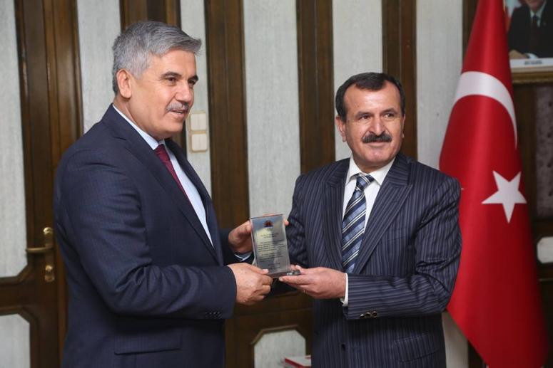 AKEV'den Başkan Çalık'a Teşekkür Ziyareti