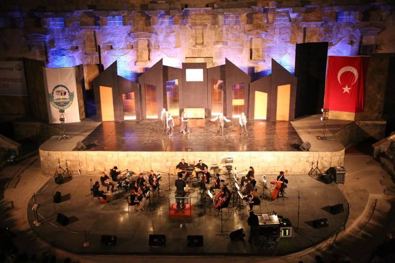 Aspendos Gecesinde Müzik Ziyafeti