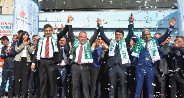 Serik'te Millet İttifakı Seçim Ofisi Açıldı