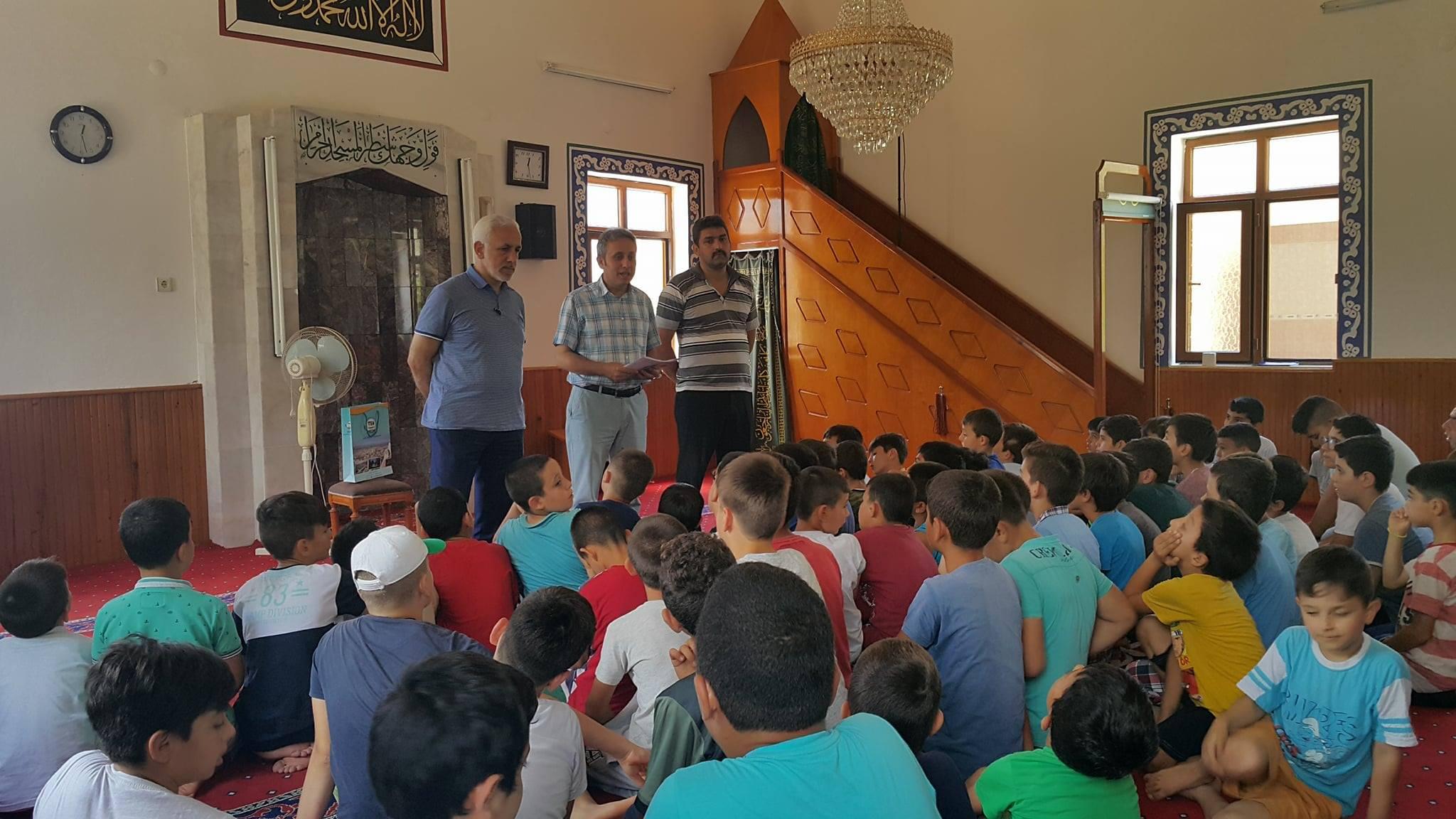 Yaz Kur'an Kurslarında Spora Davet