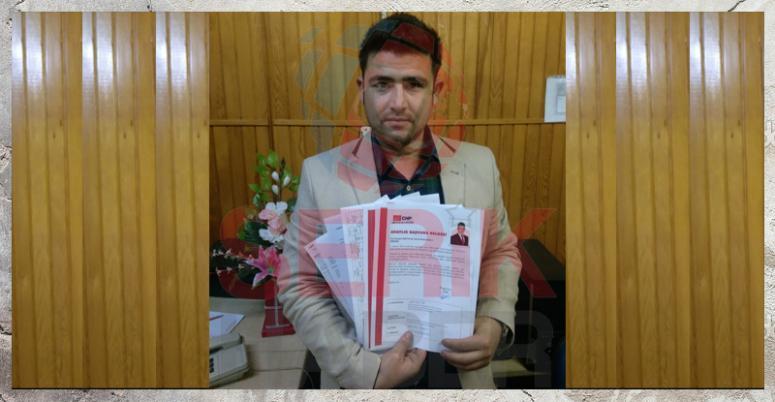Serik'in Genç Milletvekili Adayı Başvurusunu Yaptı