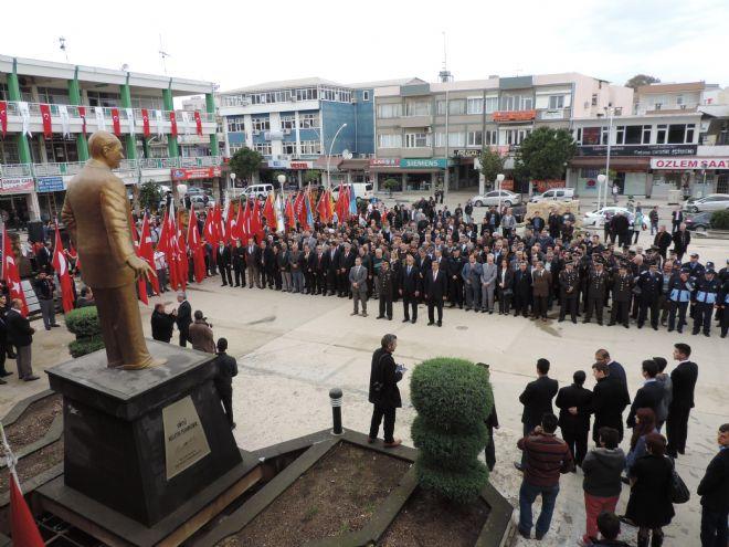 ATATÜRK'ÜN SERİK'E GELİŞİNİN 84. YILI KUTLANDI