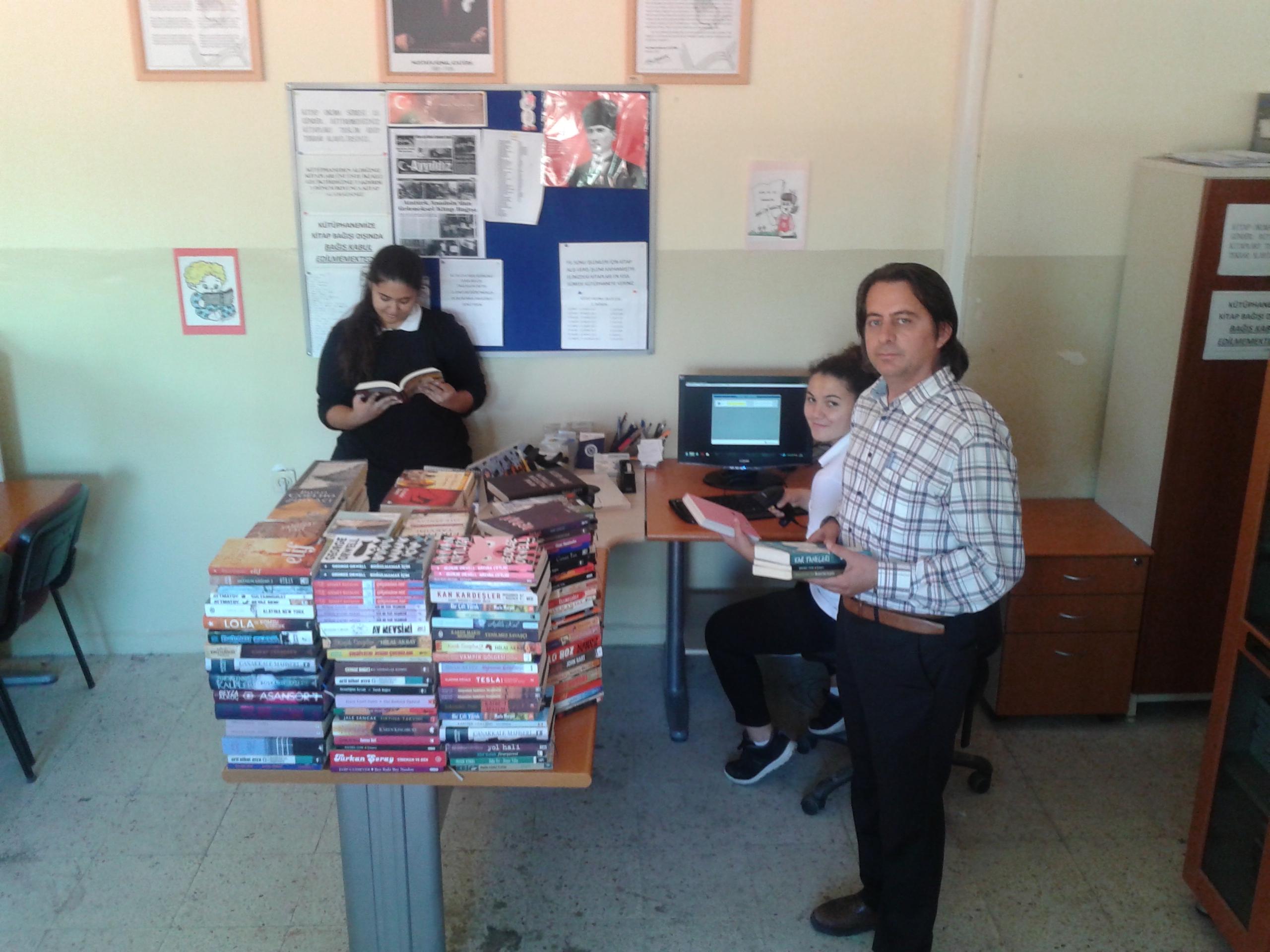 Atatürk Anadolu Lisesi Kütüphanesi Kendi Rekorunu Kırdı